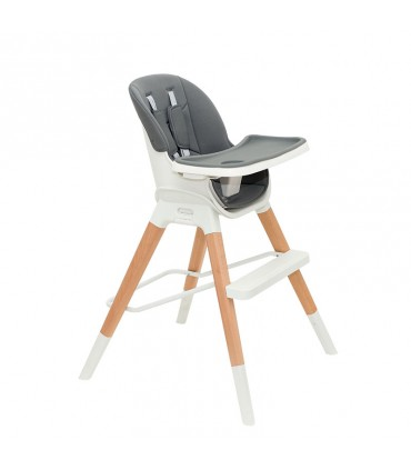 Olmitos multifunctional wooden highchair