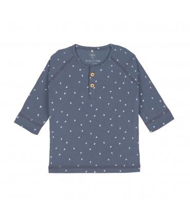 Camisa manga lar dots curry 7-12