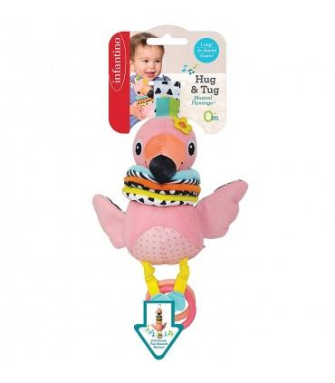 Tirador musical flamingo Infantino