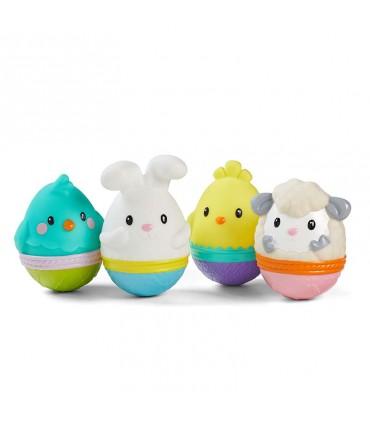 Juguete baño huevo de pascua Infantino
