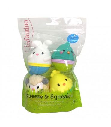 Easter egg bath toy Infantino