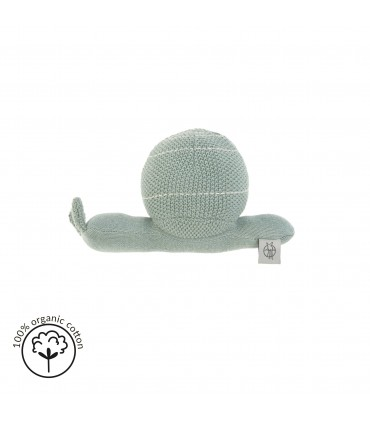Snail knitted toy Lässig