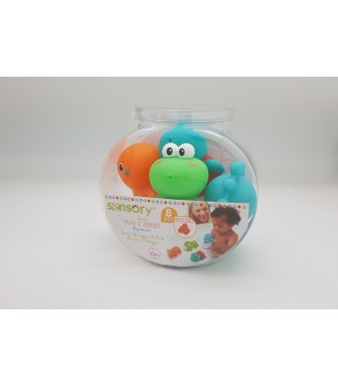 Bath toys pack 4 pcs. Infantino