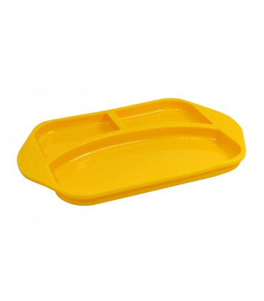 Silicone compartment plate M&M