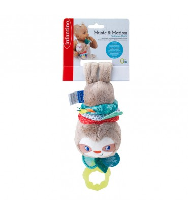 Infantino Lazy Teether Musical Toy