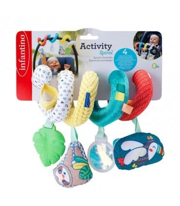 Espiral color y actividades Infantino