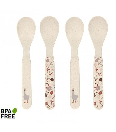 copy of Set 4 spoons recycled raw materials Lässig
