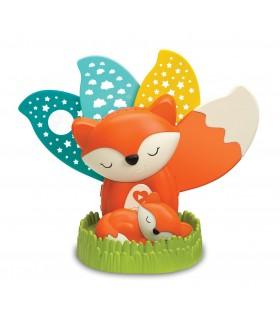 Proyector y punto luz fox 2 en 1 Infantino