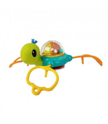 Turtle toy with suction cup Infantino