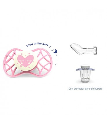 Glow Cool soother anatomical teat + 0m Nuvita