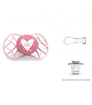 Cool symmetrical nipple pacifier + 0m Nuvita