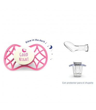 Glow Cool soother anatomical teat + 6m Nuvita