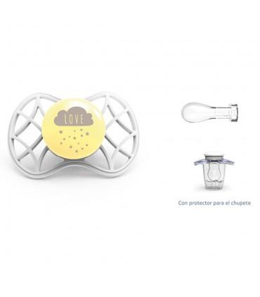 Cool symmetrical nipple pacifier + 6m Nuvita
