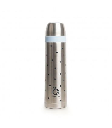 Stainless steel liquid thermos dots Olmitos