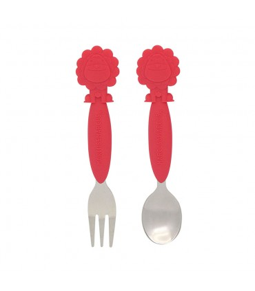 Spoon and fork set M&M