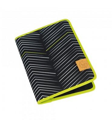 Document holder Zigzag Black & White Lässig