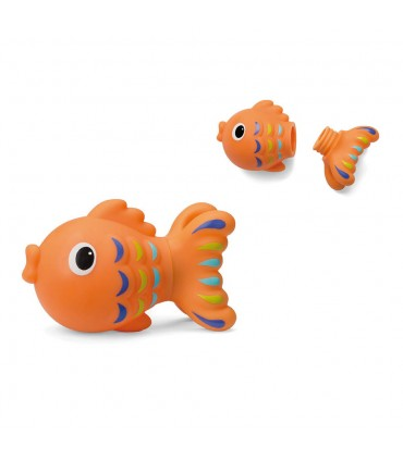 Fish bath toy with opening Infantino