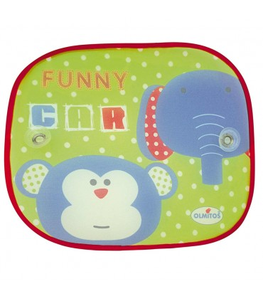 Funny sun visor with suction cups for car Olmitos