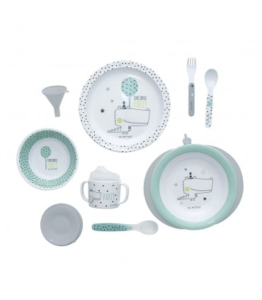 Olmitos crockery with thermal plate