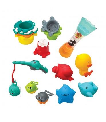 17pcs fishing set. Infantino