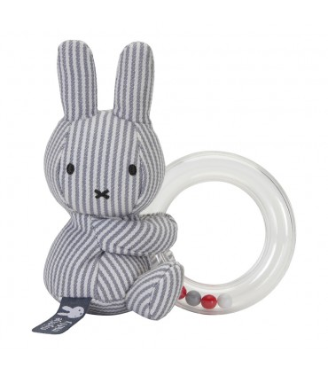 Doll Ring Rattle Miffy Tiamo