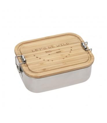 Lunchbox stainless bamboo Lässig