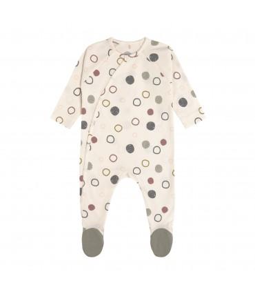 Pyjama with feet spots Lässig