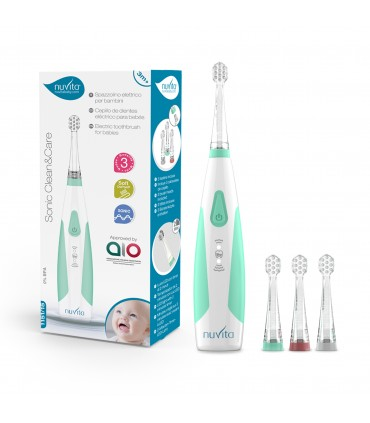 Electric toothbrush for babies and children - Sonic Clean & Care Nuvita