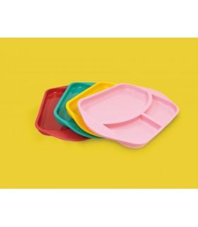 Silicone compartment plate M&M