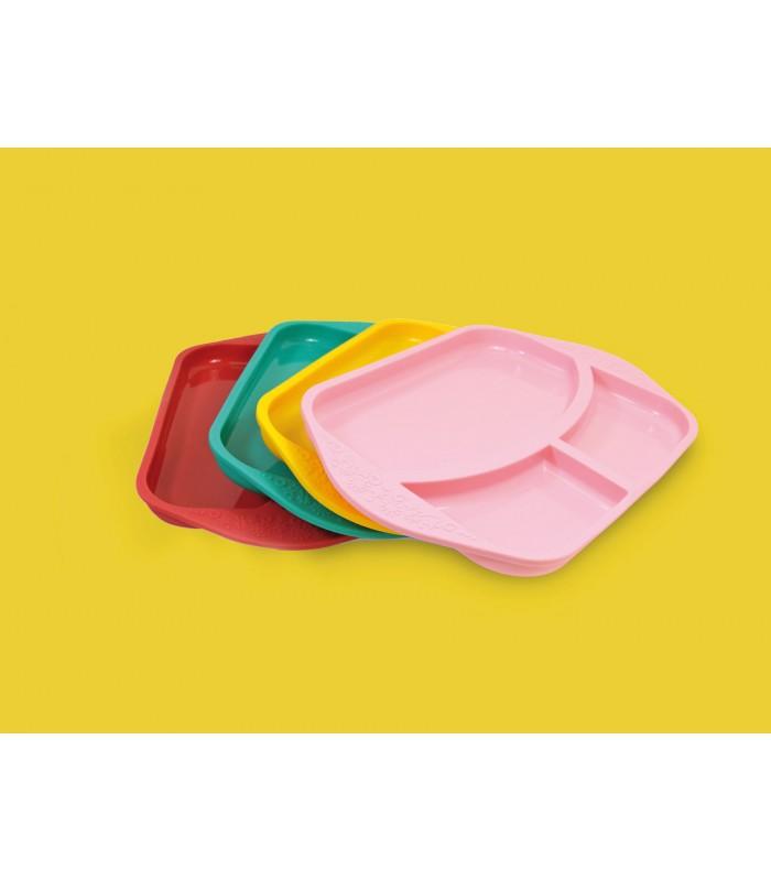 Plato compartimentos de silicona M&M